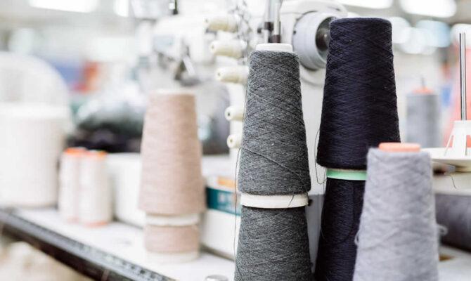 recyclen van textiel